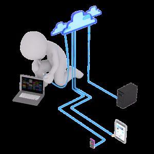 computer, internet, wifi